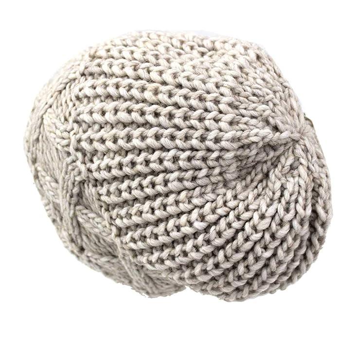 Nologo Cappello donna misto lana modello cuffia zuccotto made in Italy m1326  bei  Amazon.it  Scarpe e borse 85e484815e18