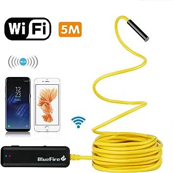 BlueFire WiFi endoscopio IP66 impermeable inspección serpiente ...