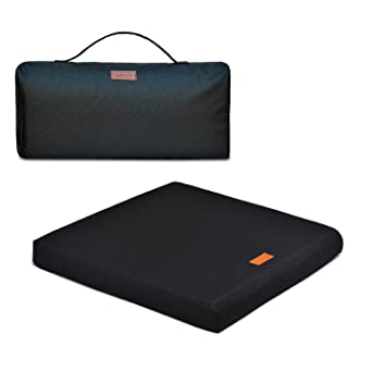 Amazon.com: La actualización Cojín de asiento, 100% látex ...