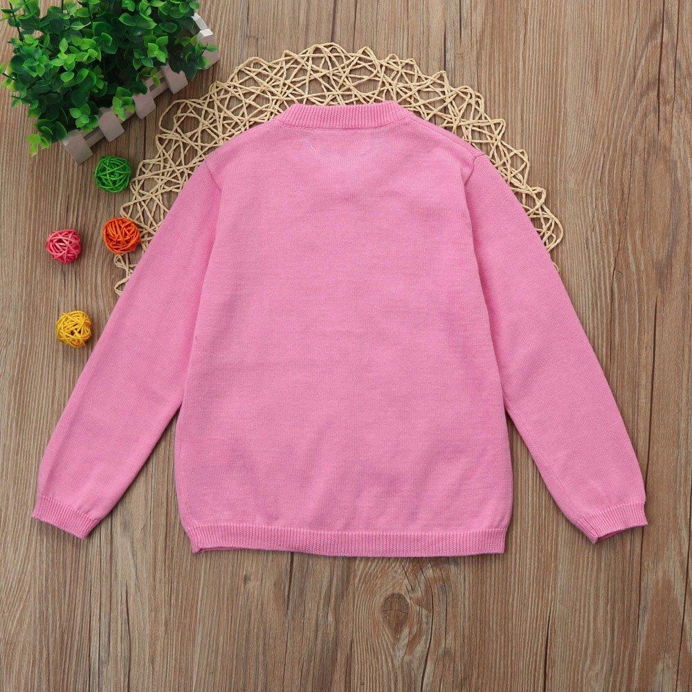 feiXIANG Descuento de Primavera y Verano Ropa de bebé niña niño niña Ropa de Punto suéter Colorido Abrigo Chaqueta Abrigo 1-3 años: Amazon.es: Electrónica