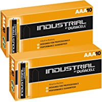 Duracell 20X Pack Procell Industrial AAA MN2400 Alkaline Batteries LR04 Battery Replacement