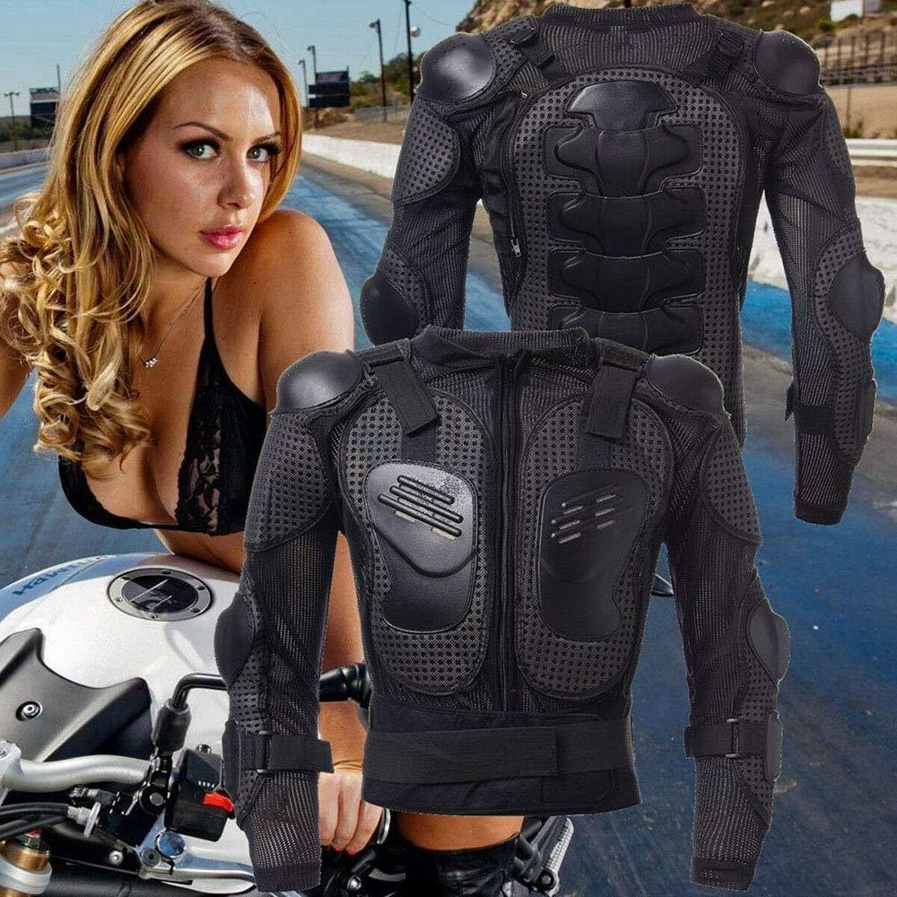 KKmoon Chaqueta de Moto,Chaqueta Protectora Motocross Ropa Protectora de Cuerpo Armadura Completo Profesional