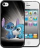 Coque BUMPER IPHONE 5c-LILO & STITCH galaxy + Film de protection OFFERT