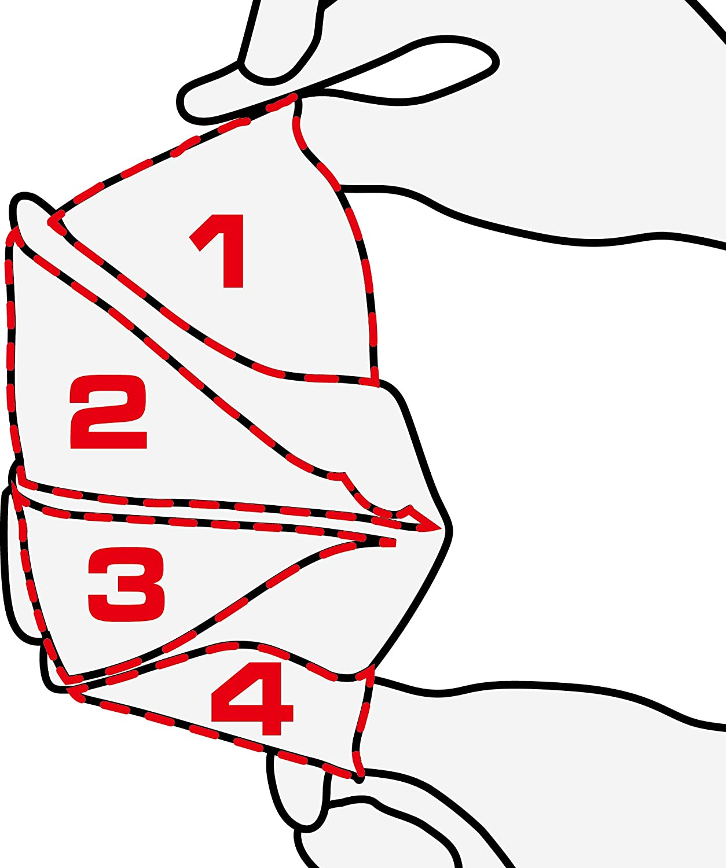 delta plus m1204v ergonomic face fit valved ffp2 workwear ppe dust  delta plus m1204v ergonomic face fit valved ffp2 workwear ppe dust masks amazon co uk diy tools