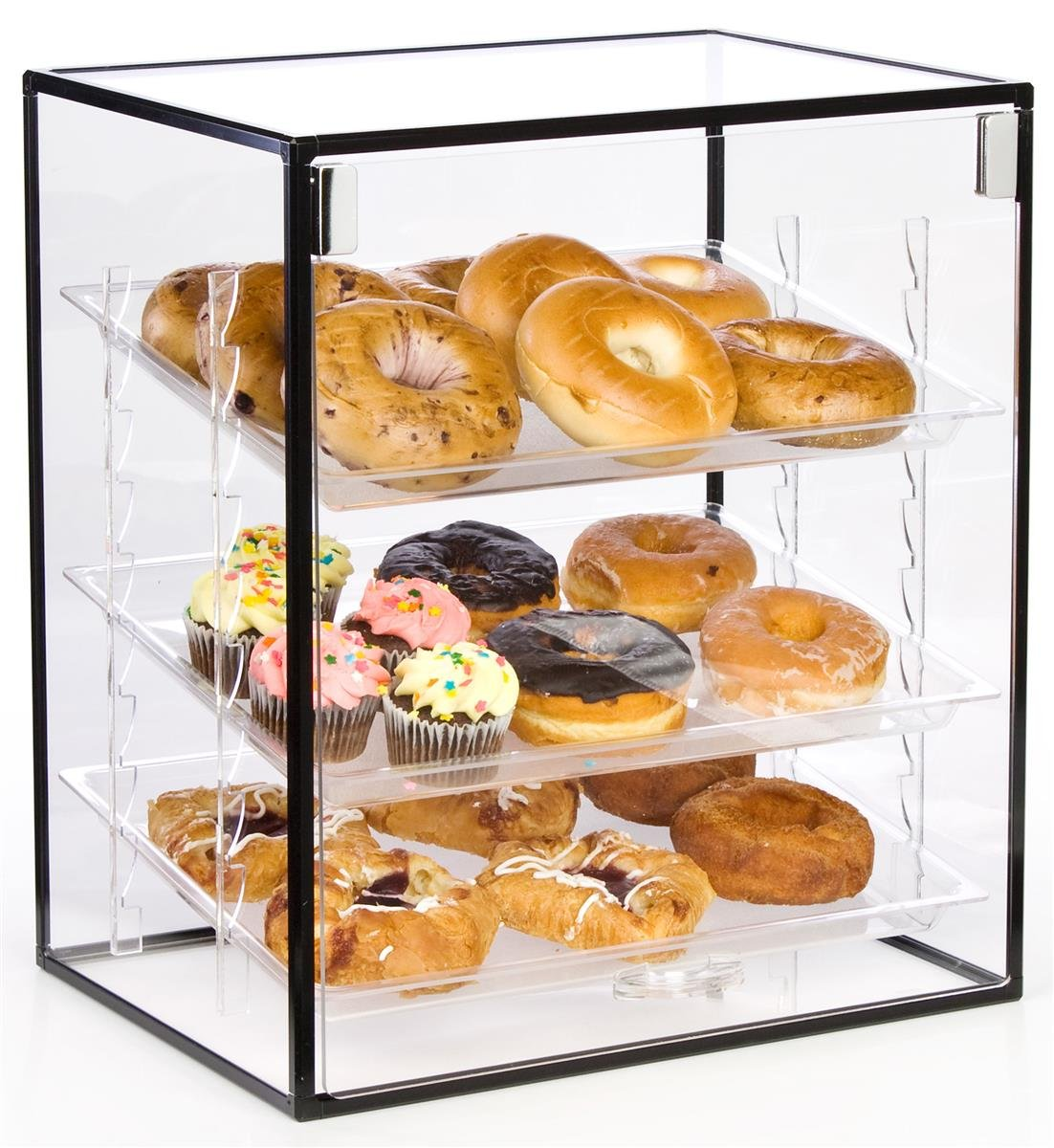 Amazon.com: Clear Acrylic Countertop Bakery Display Case, 15-5/8 ...