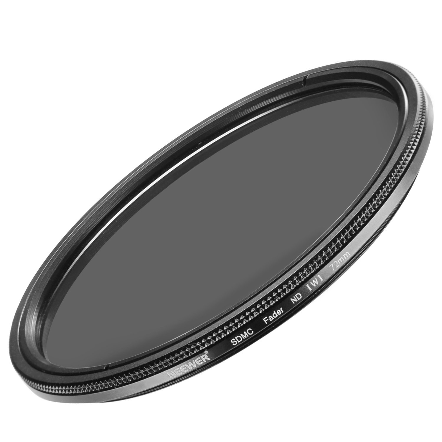 Neewer 72MM Ultra Slim ND2-ND400 Fader Neutral Density Adjustable Lens Filter for Camera Lens with 49MM Filter Thread Size, Made of Optical Class FBA_10088592