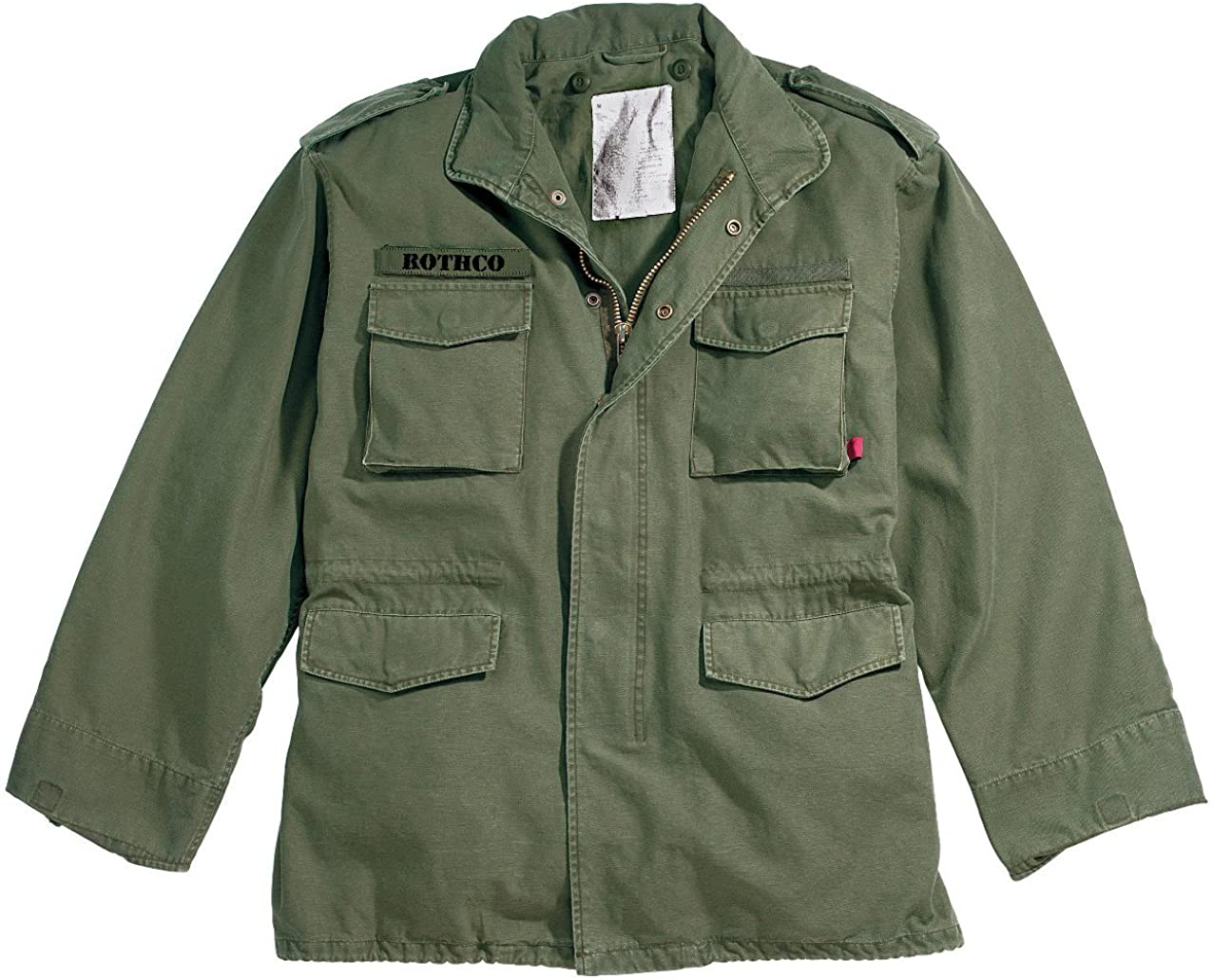 60s 70s Men's Jackets & Sweaters Rothco Vintage M-65 Field Jackets $97.62 AT vintagedancer.com