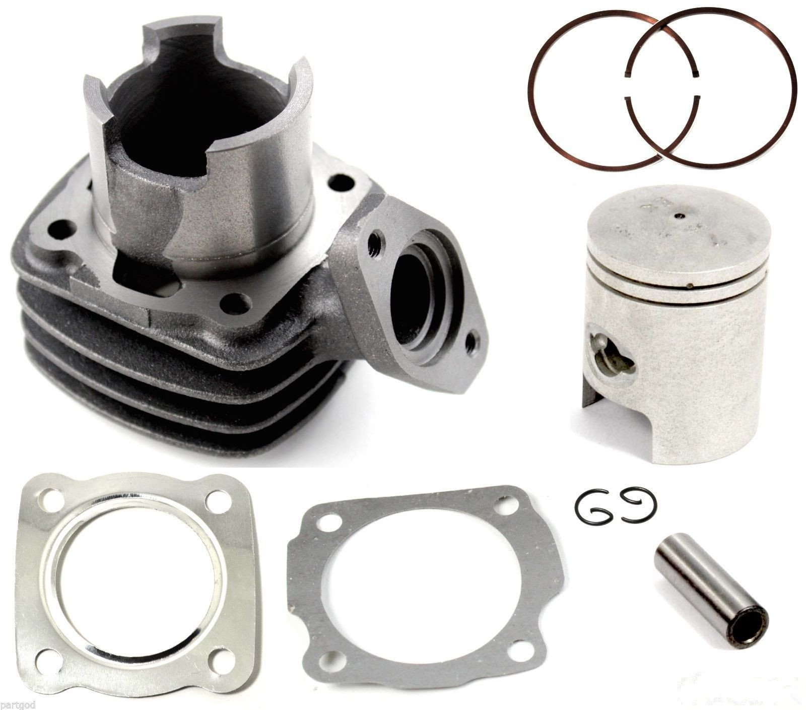 Cylinder Piston Ring Gasket Assembly Kit for 1984-1987 Honda Spree NQ50 Scooter by Anfu