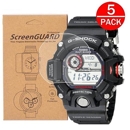 Protectores De Pantalla Para Reloj Casio Gw-9400 /gw9400