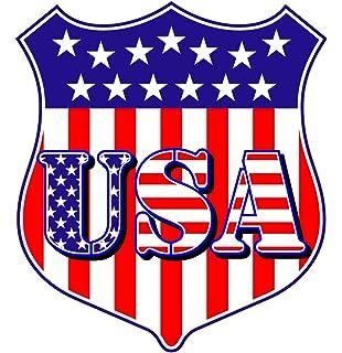 Aufkleber Adler auf USA Fahne Flagge Autoaufkleber Sticker Amazon