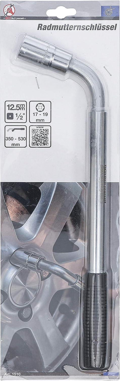 """1//2/"""" Antrieb 12,5 mm Radmutternschlüssel - SW 17 x 19 mm"""