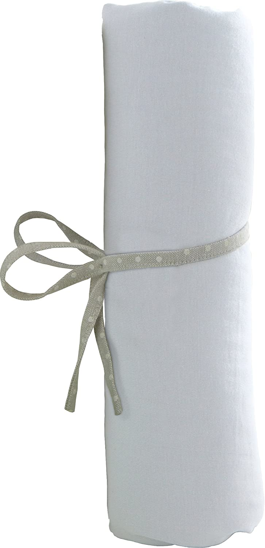 babyCalin Drap Housse Blanc 70 x 140 cm BBC414702