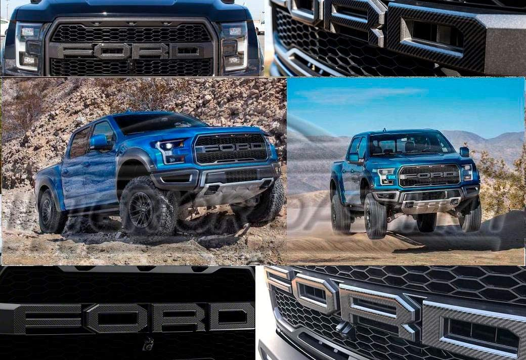 2019 FORD RAPTOR TAILGATE REAR EMBLEM INLAY VINYL DECAL STICKERS PANEL APPLIQUE