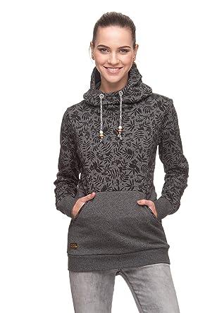 Ragwear Sweater Damen GRIPY BOLD 1821-30072 Dunkelblau Navy 2028