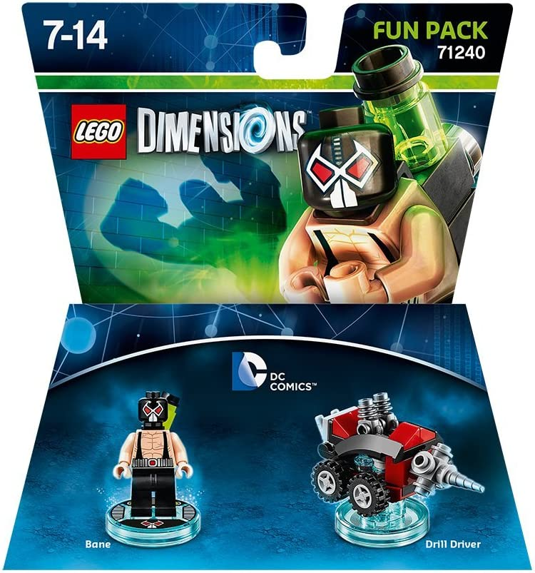 Warner Bros Interactive Spain Lego Dimensions - DC Bane: Amazon.es ...