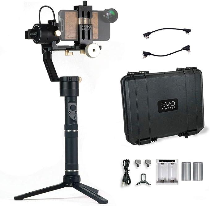 EVO Rage Gen2 cardán para Smartphones, cámaras réflex Digitales y ...