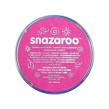Snazaroo - Pintura facial y corporal, 18 ml, color rosa brillante: Amazon.es: Juguetes y juegos