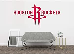 "Basketball Team - NBA Team Logo Wall Decal Vinyl Sticker for Home Interior Decoration Doors Laptop, Window, Mirror, Car (40"" x 22"")"