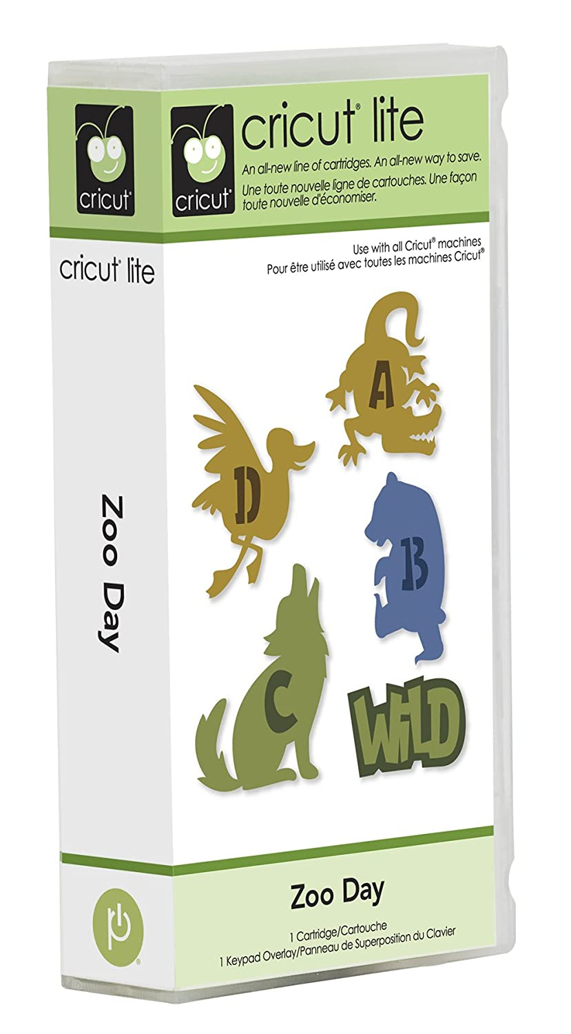 Cricut Lite Cartridge - Zoo Day Provo Craft 2000546 HCA-00358