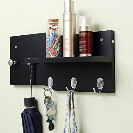 Amazon.com: Coat Rack Modern Wall-Mounted Shelves Porch ...