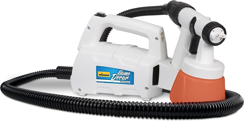 Wagner 0529033 Home Décor HVLP Paint Sprayer, 6' Hose, Chalk Paint Spray Gun, Milk Painting Tool, Latex Paint Spray for Home, Spray Painting Gun, Finish Sprayer