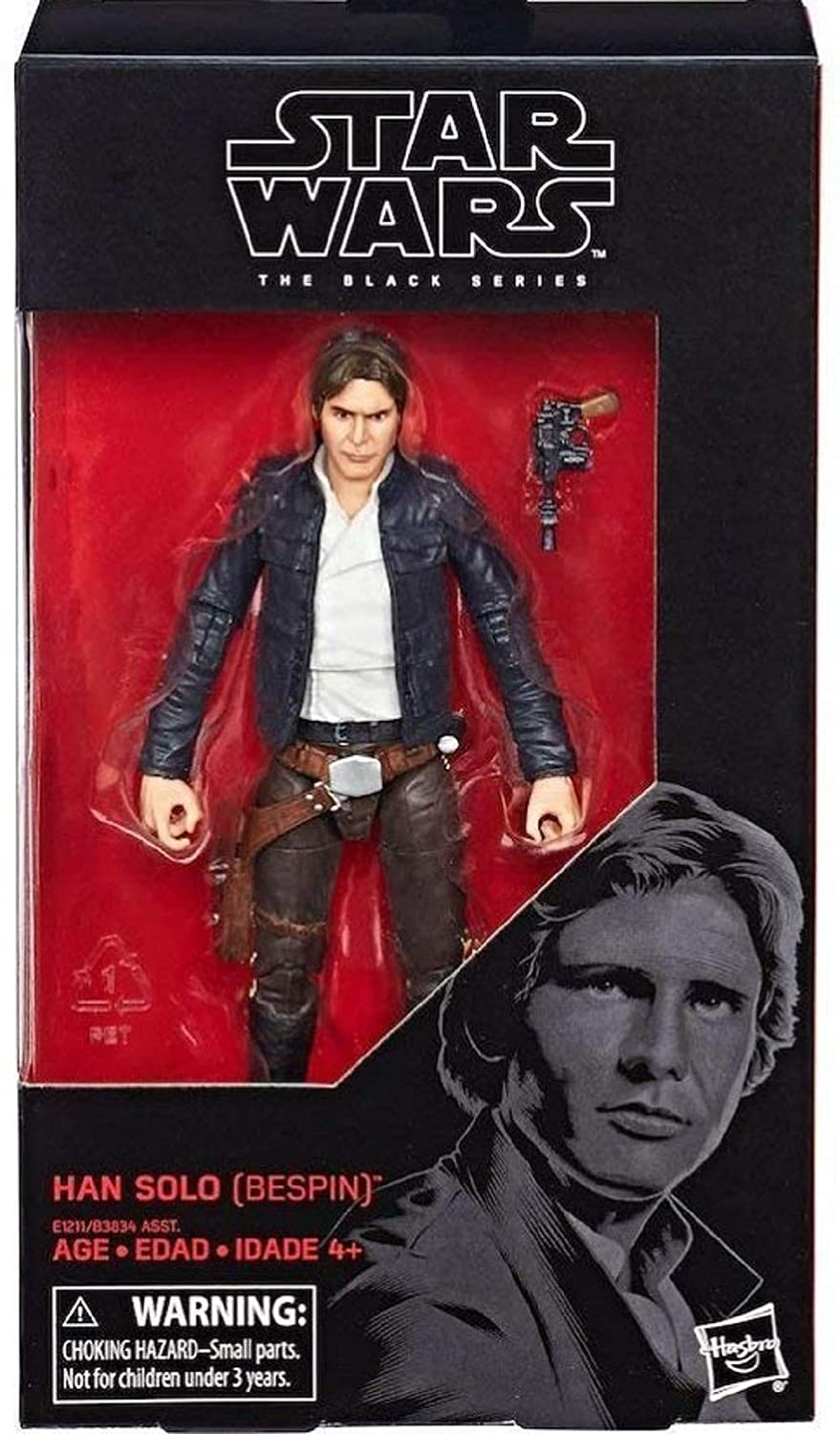 6-Inch Figure BESPIN Hasbo Star Wars The Black Series Han Solo