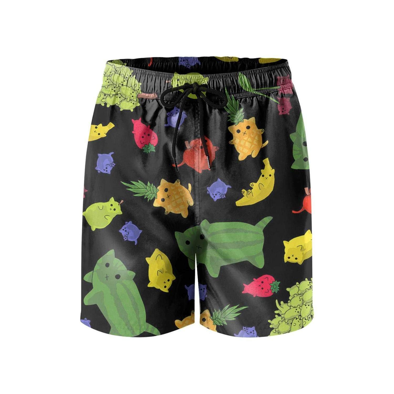 Men Core Slim Fit Adjustable Swimming Trunks Short-Tiger Stripe camo Style Beach Shorts