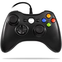 Xbox 360 Controller, Astarry Wired USB Game Controller for Microsoft Xbox & Slim 360 PC Windows 7 (Black)