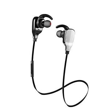 GlobalCrown Auriculares Bluetooth, Wireless Bluetooth 4,1 Sport Auriculares con arreglo A Auriculares con