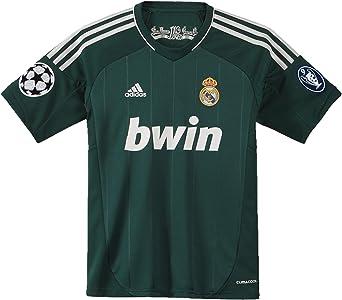 adidas Real Madrid C.F. - Camiseta para niño, 3ª equipación, 2012-13, 11-12 años: Amazon.es: Ropa y accesorios