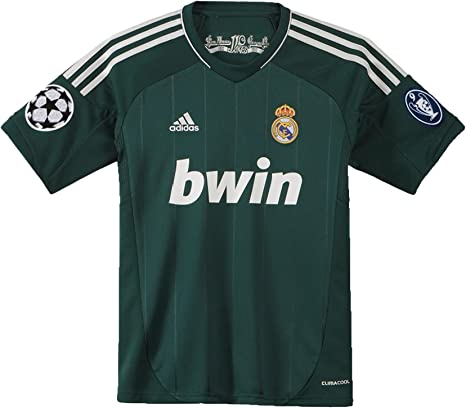 adidas Camiseta Real Madrid 3rd Infantil Verde Ivy/metsilve Talla:176: Amazon.es: Ropa y accesorios