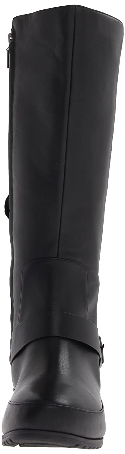 ba99f84c938 Fitflop Women s Dueboot Tall Buckle Boots Black Size  3.5  Amazon.co.uk   Shoes   Bags