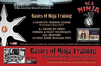 Ninjutsu DVD - Basics de Ninja formación - BlackBelt vídeo ...