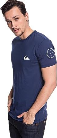Quiksilver Solid Left T-Shirt Mens T-Shirts Medieval Blue