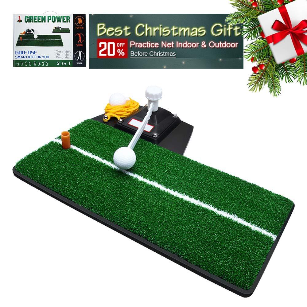 Sinolodo Golf Mat Golf Chipping Driving Range Mat for Backyard Home Use