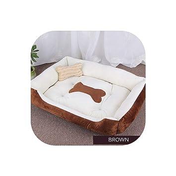 Amazon.com: Cama para perro, caliente, caseta lavable para ...