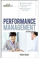 Performance Management 2/E (Briefcase Books Series) Kindle Edition