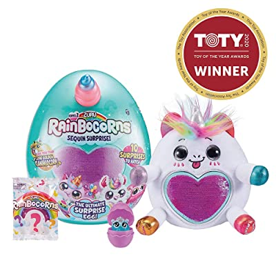 Rainbocorns Series 2 Ultimate Surprise Egg by ZURU - White Unicorn: Toys & Games