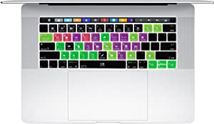 Ableton Live Functional Hot Key Shortcut Silicone Keyboard Skin Cover for MacBook Pro 13