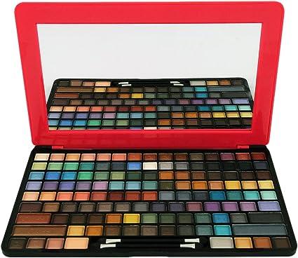 Gloss - caja de maquillaje, caja de regalo para mujeres - Paleta Maquillaje - Maquillaje Pad - 123 piezas: Amazon.es: Belleza