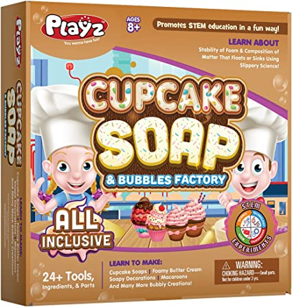 Image result for Playz Cupcake Soap-Science Toys f