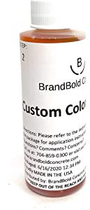 BrandBold Brilliance Concrete Acid Stain