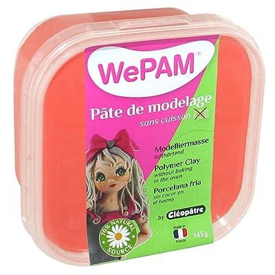 WePAM - PFW185-145 - Pâte de modelage - Rouge - 145 g