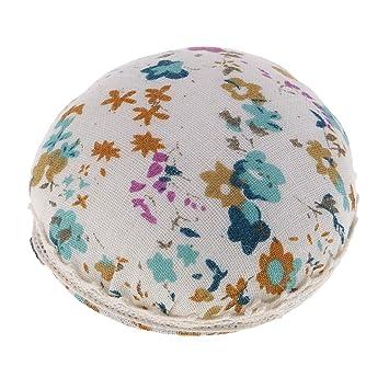 LoveinDIY Ball Shaped Sewing Pin Cushion Pillow Pincushion Holder Wrist Craft Blue