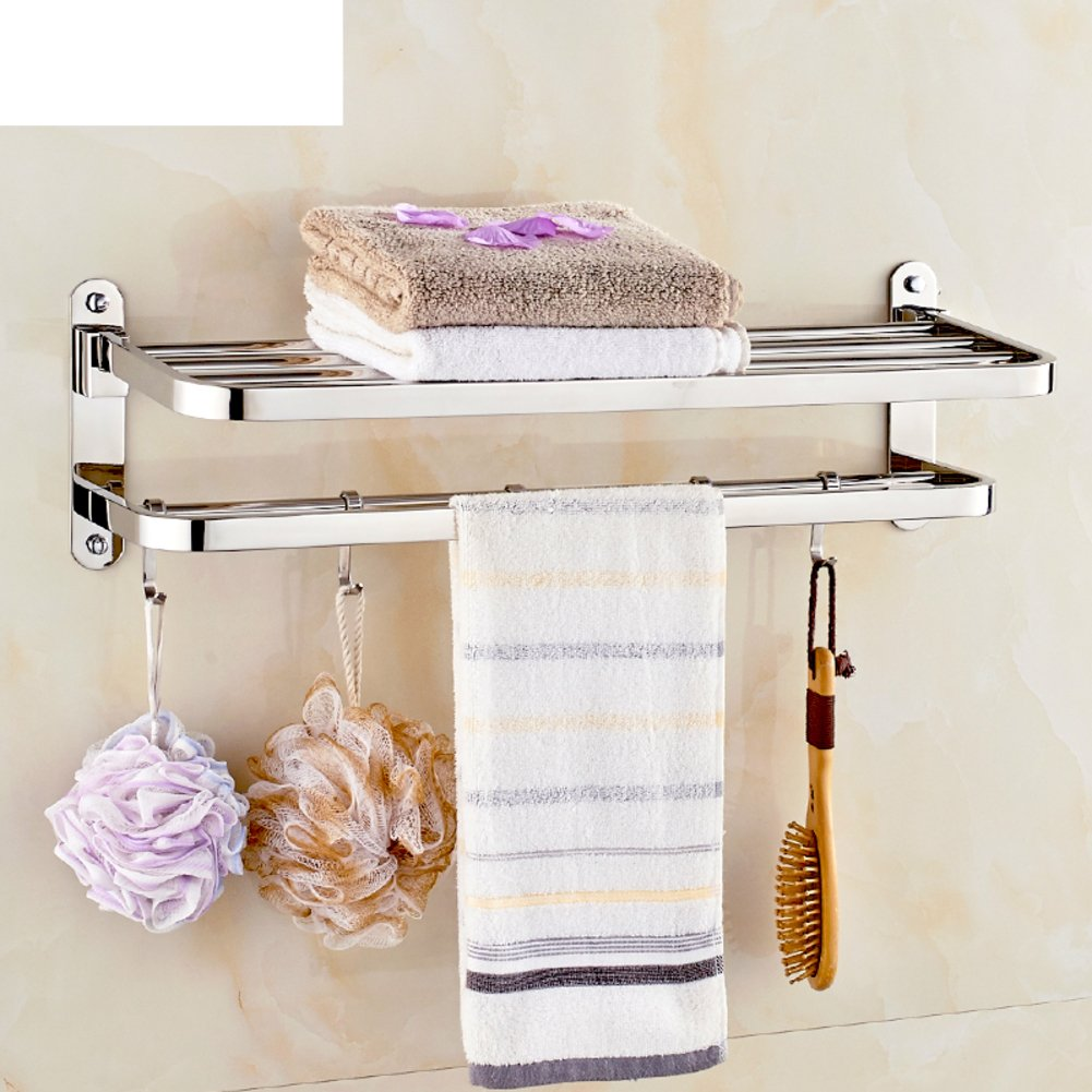 30 Off Stainless Steel Folding Towel Rack The Bathroom Towel Rack Bathroom Racks Hanging C