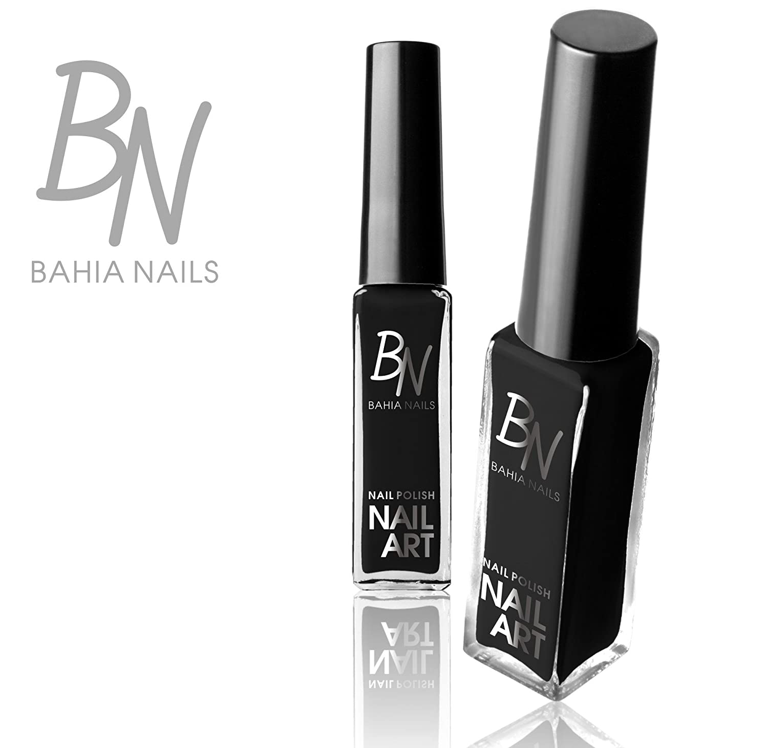 Bahia nails -nail art liner striper black