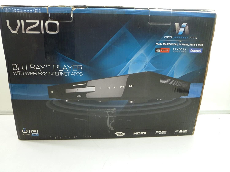 Vizio vbr231 blu-ray player with wireless internet apps.