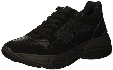 b08da2ef2c2 Steve Madden Men s Cole Sneaker Black 7 ...