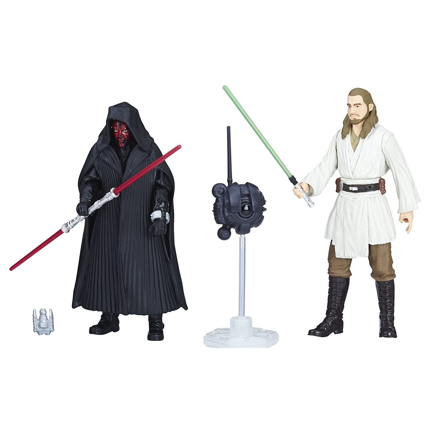 Star Wars Force Link 2.0 Darth Maul & Qui-Gon Jinn 2-Pack Hasbro E1687
