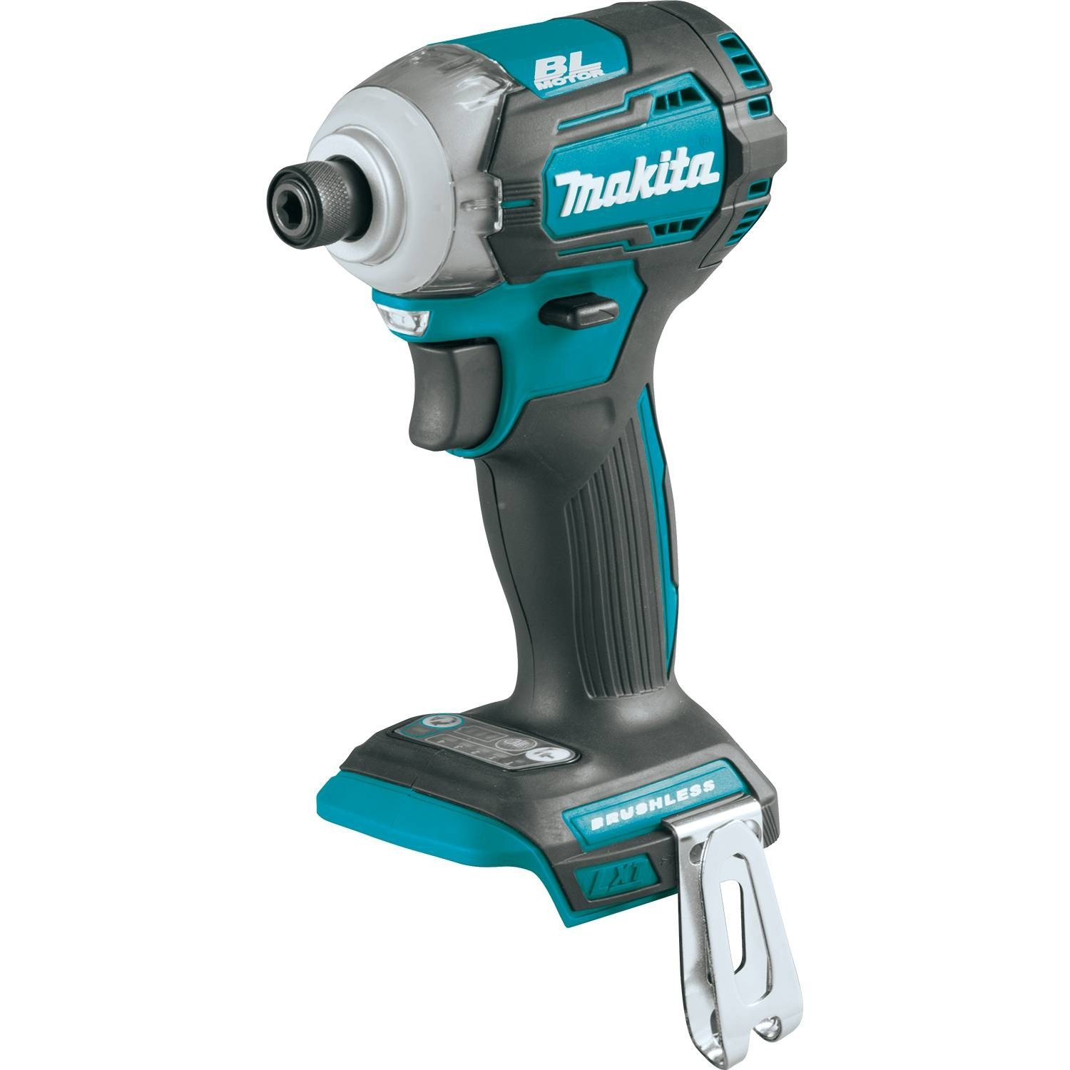 Makita XDT12Z 18V LXT Lithium-Ion Brushless Cordless Quick-Shift Mode 4-Speed Impact Driver, Tool Only,